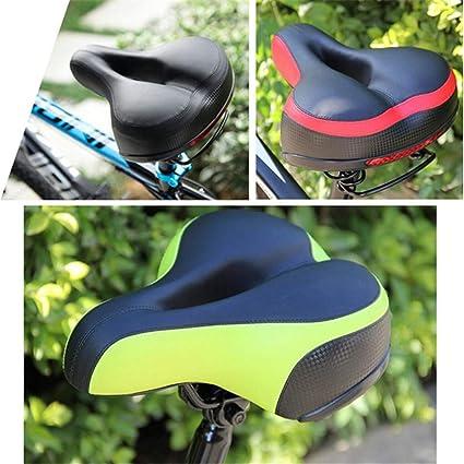Silica Gel Cycling Bicycle Saddle Cushion Seat Soft Comfortable Road MTB Bike