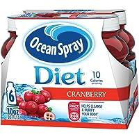 Deals on 6-Pack Ocean Spray Diet Cranberry Juice Drink 10 Fl Oz Pouch