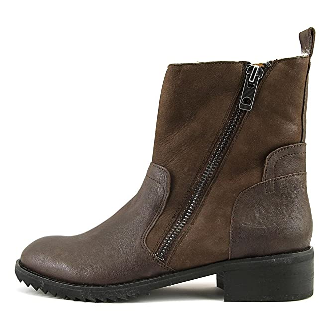 Amazon.com | Dolce Vita Women's Kincaid Bootie, Espresso Leather, US 7.5 M  | Ankle & Bootie