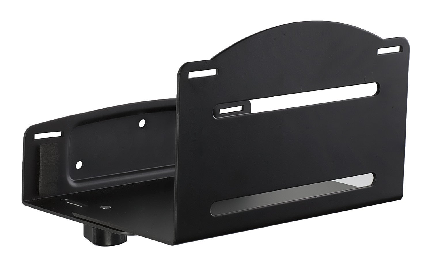 Mount-It! Heavy Duty CPU Wall Mount Bracket, Size Adjustable CPU Holder, Supports up to 22 Pounds, Saves Floor and Desk Space