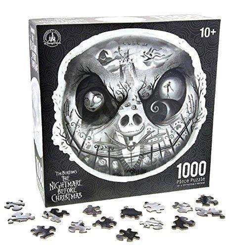 Disney Parks Nightmare Before Christmas Jack Skellington 1000 Piece Jigsaw Puzzle]()