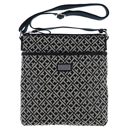 Tommy Hilfiger Women's/Girl's Xbody/Crossbody Handbag, Black Logo