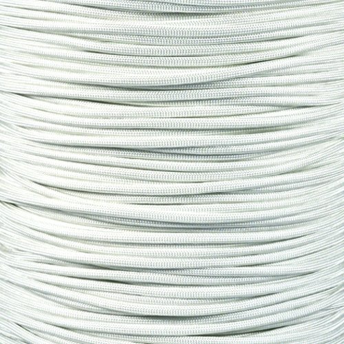 Paracord Planet 550 Cord Type III 7 Strand Paracord 100 Foot Hank - White