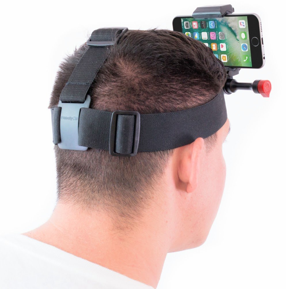 iPhone 7 & 7 Plus Head Strap Mount For Video