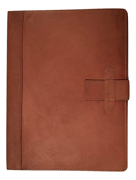c9644587e45a Brown Leather Folder Gift Boxed Personalised with Your Text Name   Message  IT124  Amazon.co.uk  Luggage
