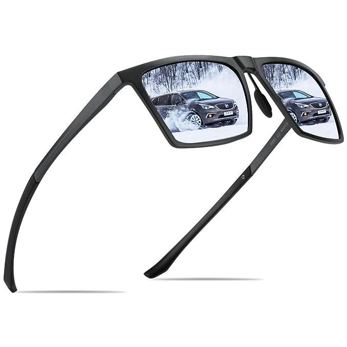Amazon.com: BRUWEN Uv400 - Gafas de sol polarizadas para ...
