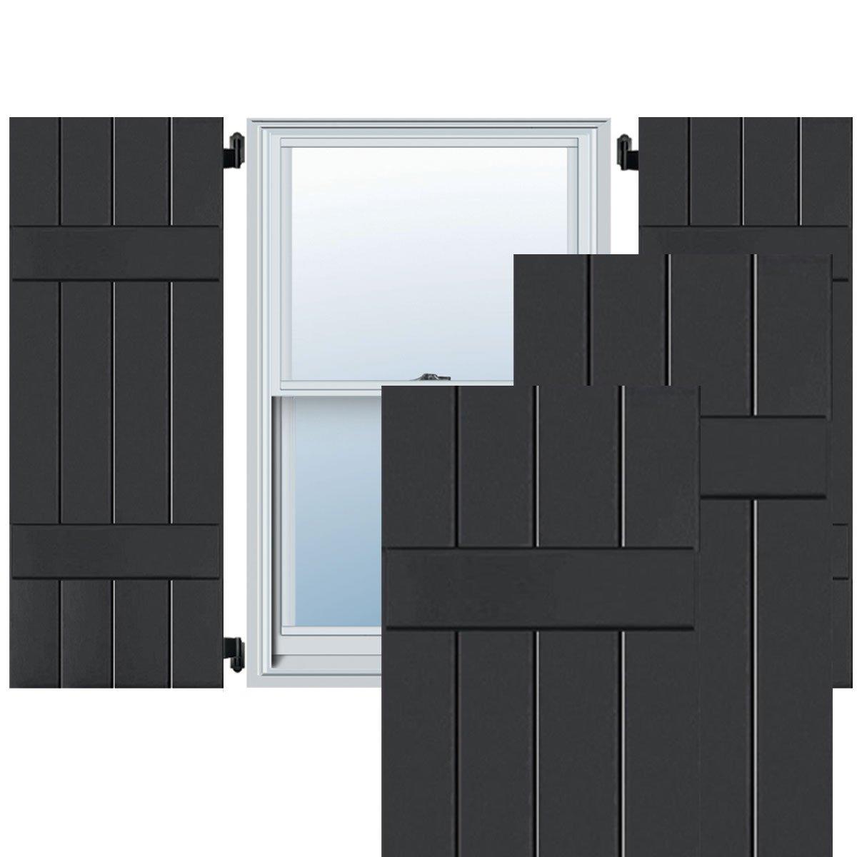 Ekena Millwork RWB15X051BLP Exterior Four Board