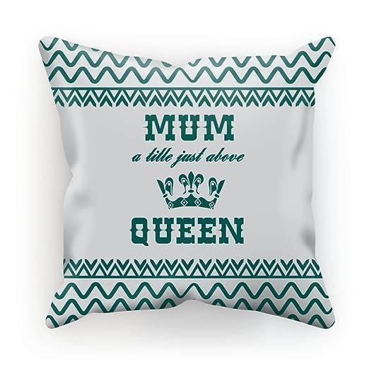 Día de la madre cojín manta almohada ante sintético - Verde ...