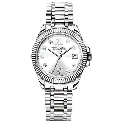 Reloj - THOMAS SABO - para Mujer - WA0252-201-201-33mm: Amazon.es: Relojes