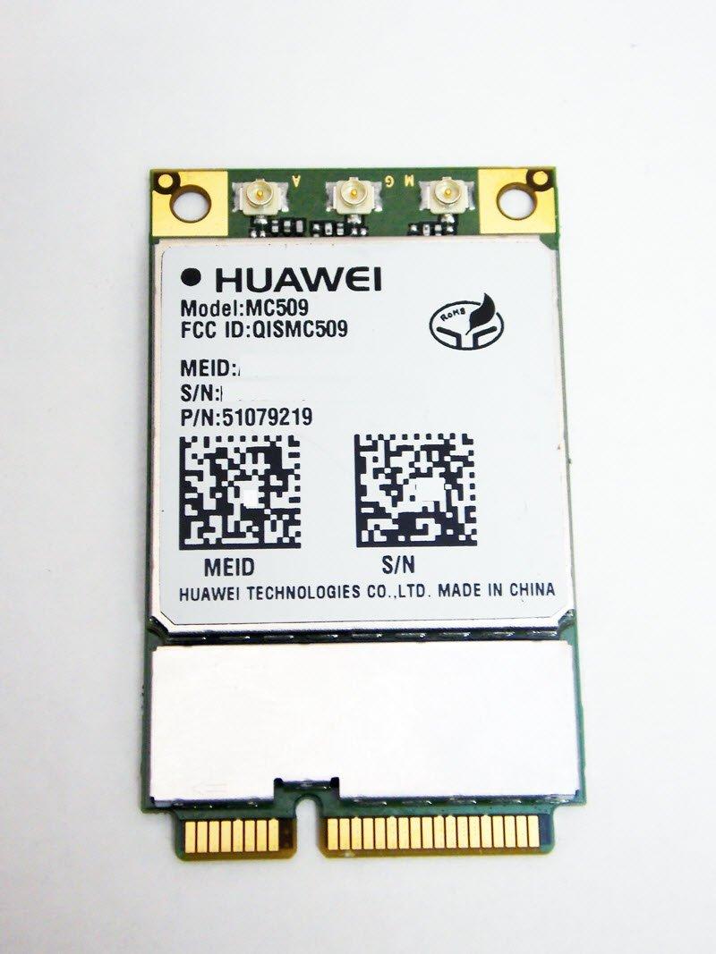 Huawei MC509-MINICARD 3G CDMA/EV-DO Module: MiniCard PCI-E with GPS Verizon - USA Certified by Huawei
