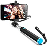 CASE U Extendable Wired Handheld Selfie Stick for Smartphones(Black)