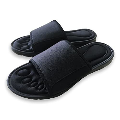 Pantofole imbottite in memory foam per uomo