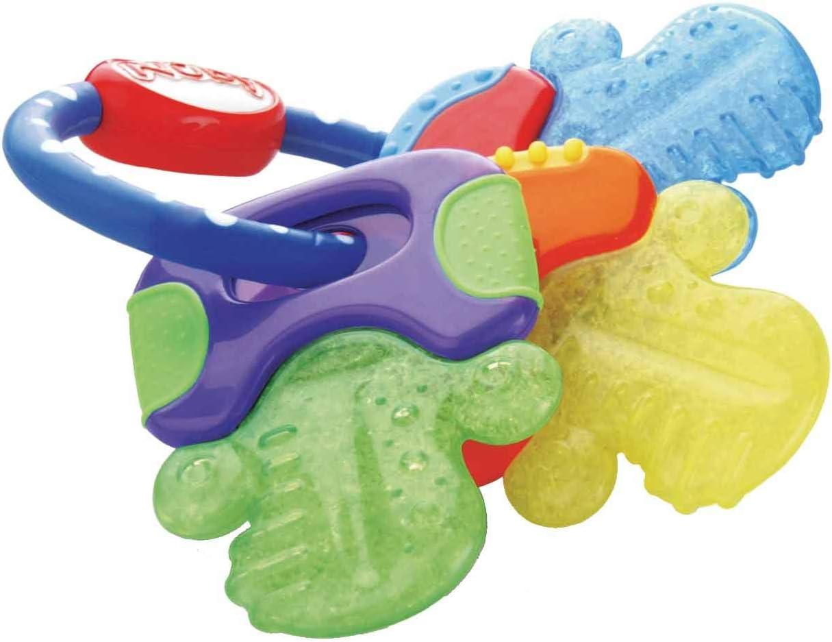 NUBY Llaves de dentición refrigerantes con pureICE Gel: Amazon.es ...