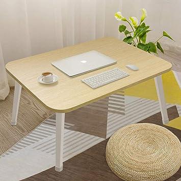 Mesa de Cama Ajustable Escritorio de computadora Plegable ...
