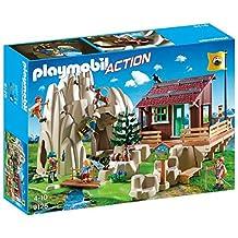PLAYMOBIL 9126 Climbing rock with mountain hut