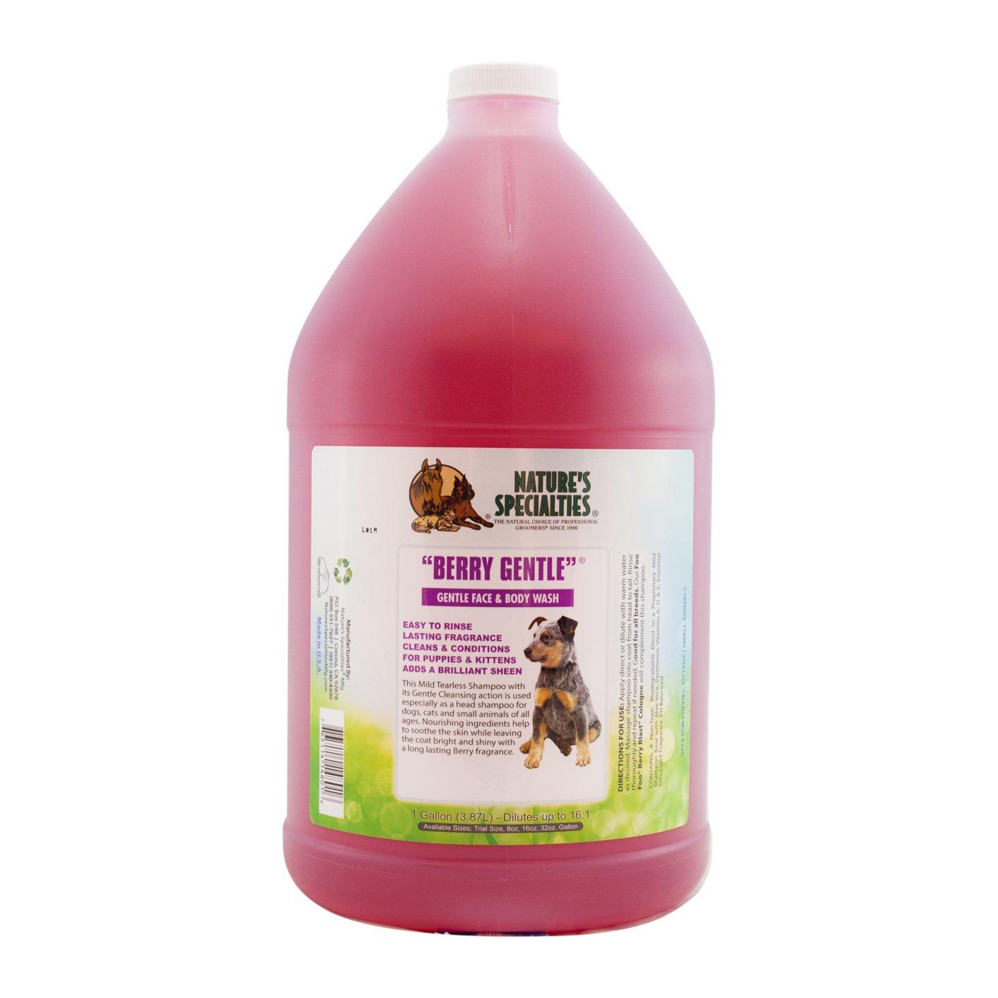Nature's Specialties Berry Gentle Pet Shampoo