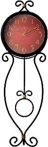 Howard Miller Addison Wall Clock 625-392 – Modern Wrought Iron with Quartz Movement