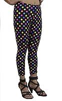 Vivian's Fashions Long Leggings - Polka Dots (Junior and Junior Plus Sizes)