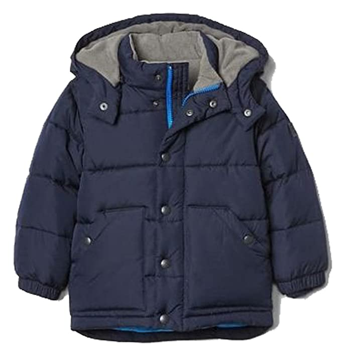 9564962ea51c Baby Gap Toddler Boys Navy ColdControl Max Warmest Puffer Coat 18-24 ...