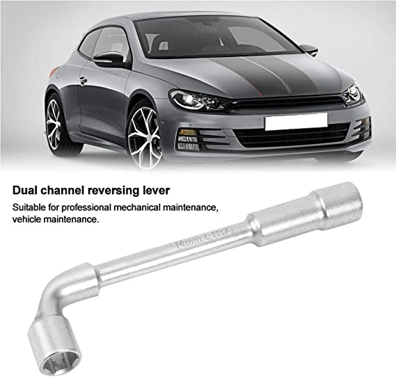 Vehicle Maintenance 13mm huaer Elbow Wrench L Type Double Head Elbow Wrench Suitable for Professional Mechanical Maintenance