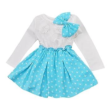 ccf27cf59 Amazon.com  Gotd Toddler Infant Baby Girl Boy Clothes Long Sleeve ...