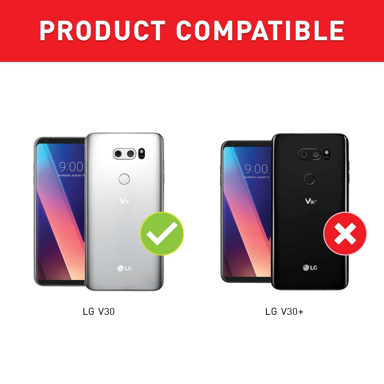 BEZ Funda LG V30, Carcasa Compatible para LG V30, Libro de Cuero ...