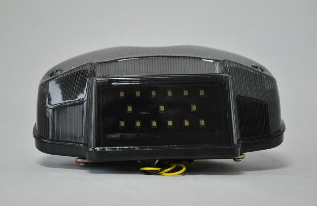 Smoked Lens Led Taillights Brake Rear Light License Plate Light for Suzuki 00-05 Bandit 600 01-05 Bandit 1200