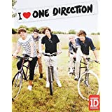 """I Heart One Direction"" 1D No-Sew Fleece Throw Blanket Kit (48"" X 60"")"