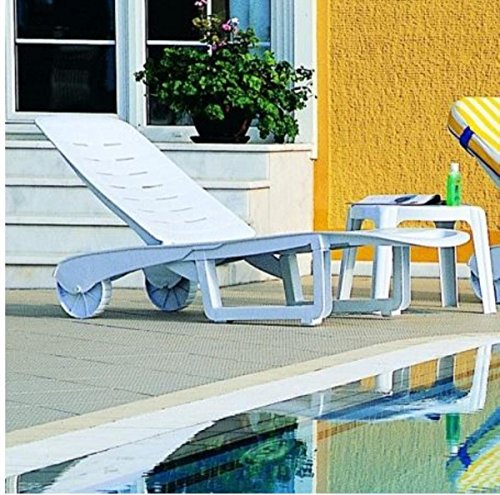 Resin Chaise - Compamia Sundance Pool Chaise Lounge - Set of 2 (White)