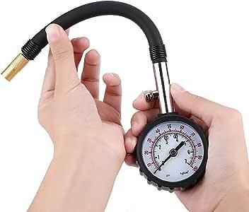 Indicadores Digitales de Presión de Llantas Probador del metro del indicador de presión de neumáticos del neumático para la bici de la motocicleta del camión del coche