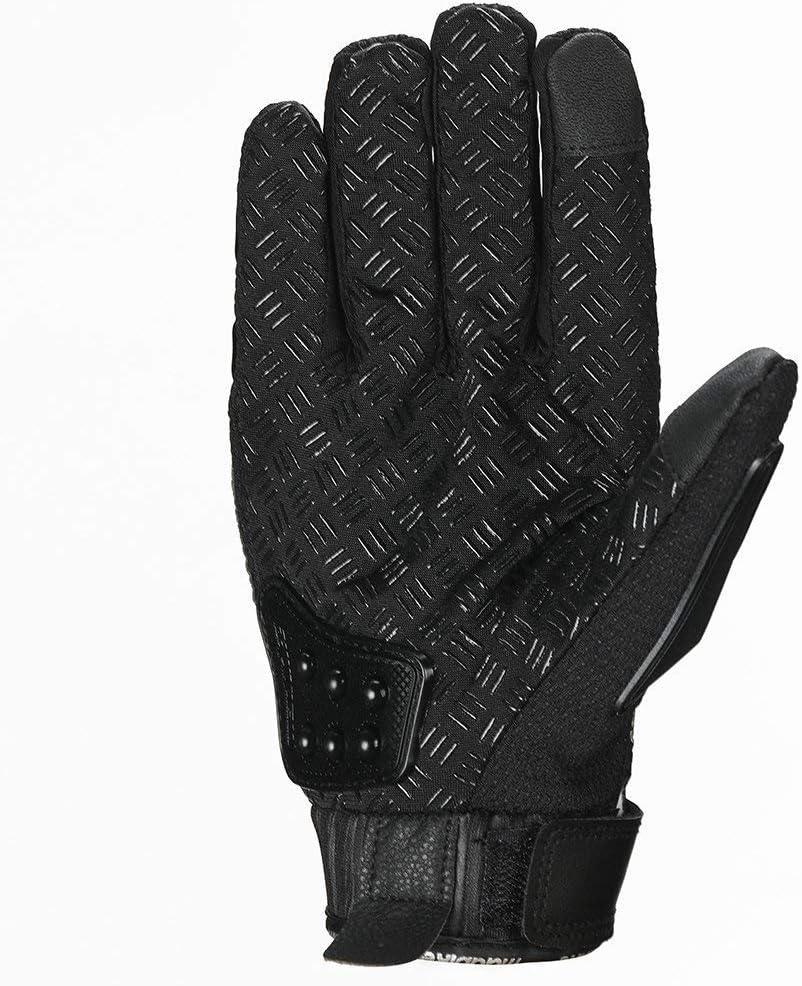 Powersport Motorrad f/ür Motorrad verst/ärktes Messing Textil Rennsport OABAIYA Sicherheitshandschuhe aus Stahl f/ür den Au/ßenbereich