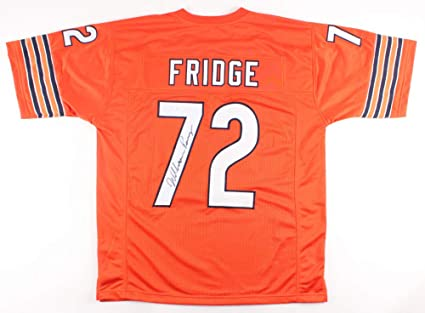 7c9c86a90db William Perry Autographed Jersey (Chicago Bears) - JSA COA! - The FRIDGE!