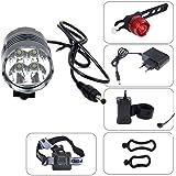 CDC® 4/5/7 LED CREE XM-L T6-U2 ampoules d'éclairage Éclairage extérieur vélos Light Bike Light + rechargeable li-ion Batterie + sac de rangement