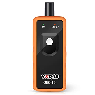 VXDAS Auto Tire Pressure Monitor Sensor TPMS Relearn Reset Activation Tool OEC-T5 for GM Series Vehicle: Automotive