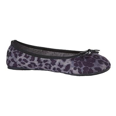 872c22d10810 Amazon.com | Butterfly Twists Women's Cleo Folding Ballerina Pumps Flats  UK3 - EU36 - US5 - AU4 Grey Leopard | Flats