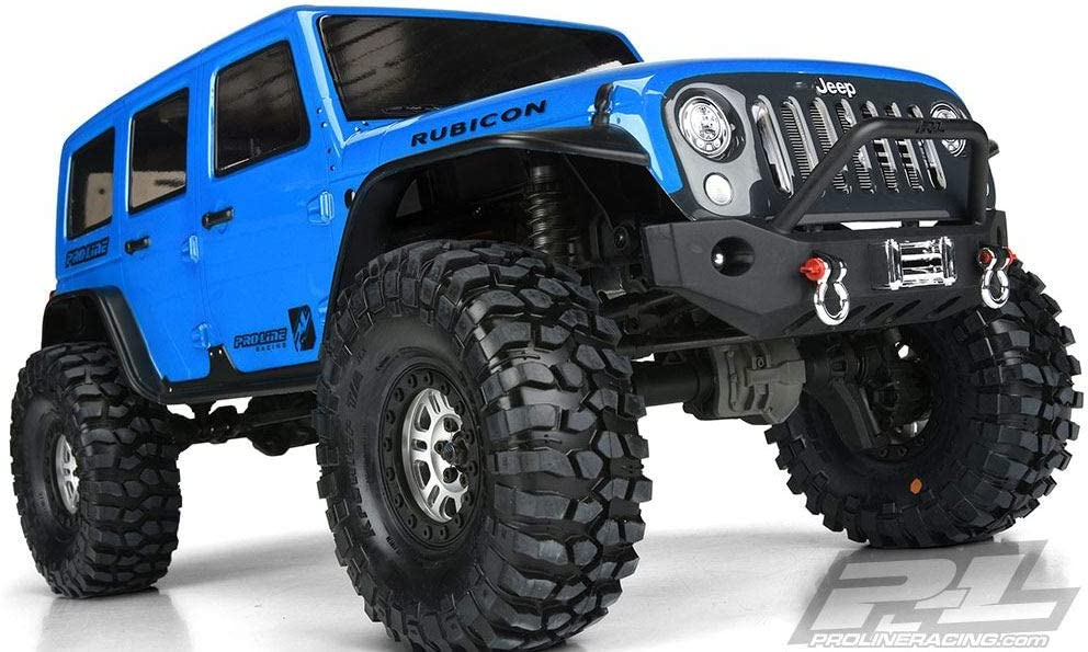 Proline Jeep Wrangler Rubicon Unlimited Clear Body TRX-4 ...