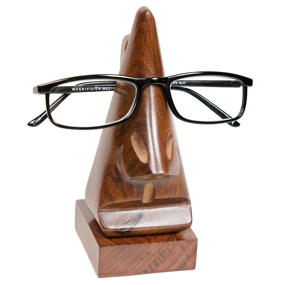ea17b210507 Amazon.com  Handmade Wood Eyeglass Holder - Fair Trade  Home   Kitchen