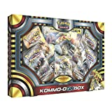 Pokemon TCG: Ultra Sun & Moon o Box   Includes 4 Expansion Boosters  , Featuring Rare Kommo-o-GX Foil Card Plus an Oversize Collectible Kommo-o-GX Foil
