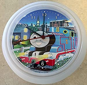 Amazon Com Thomas The Train Wall Clock Home Amp Kitchen