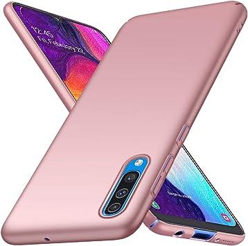 Richgle Funda Samsung Galaxy A50 / A50s, Oro Rosa Ultra Slim ...