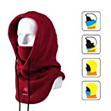UPMALL Tactical Balaclava Ski Face Mask Windproof