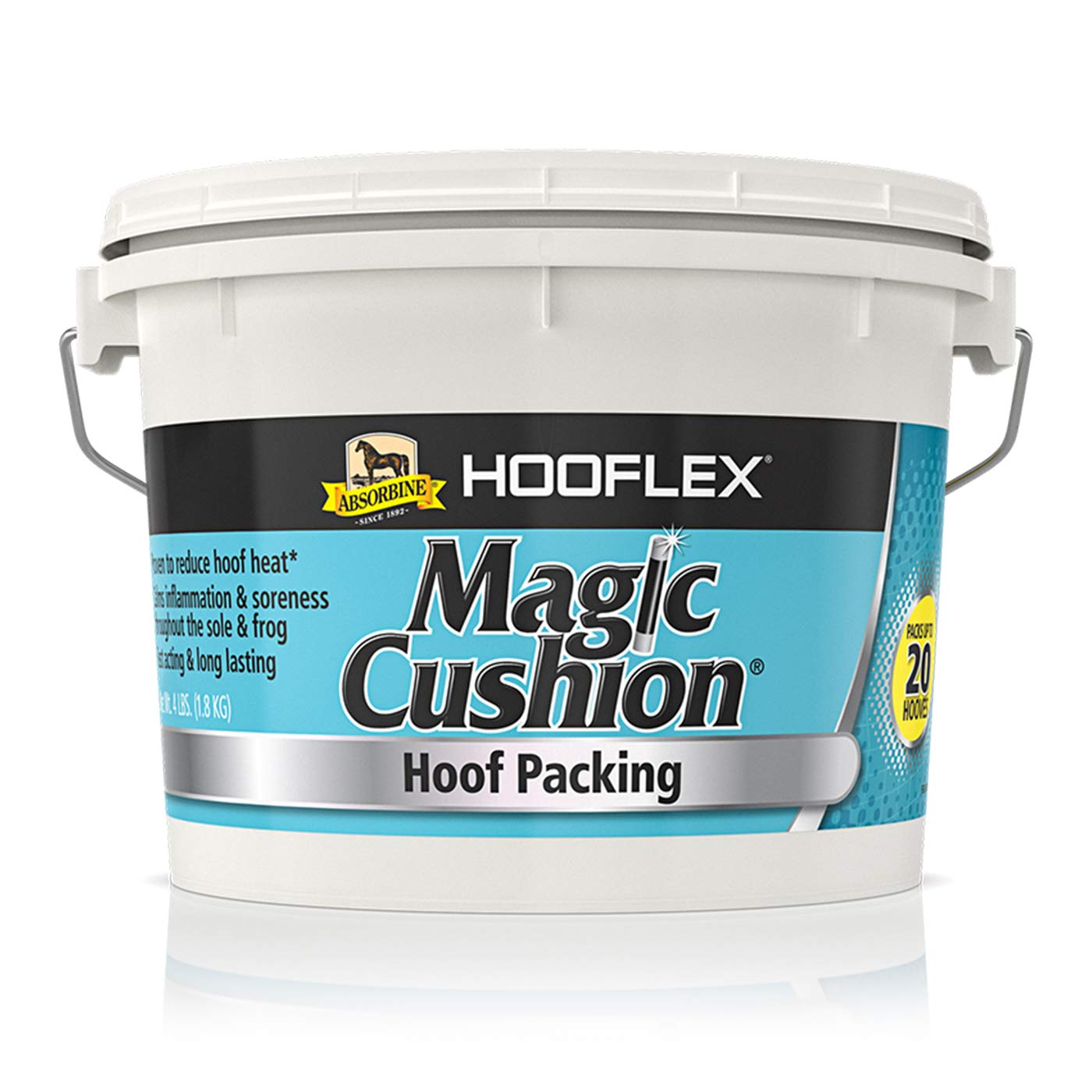 W F YOUNG 068029 Magic Cushion Hoof Packing 4LBS by Absorbine