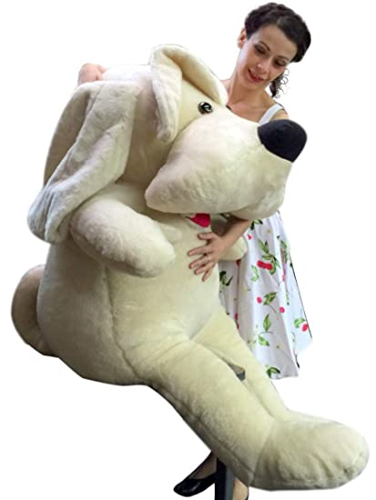 Amazon.com  Big Plush American Made Puppy 60 Inch Soft 8f69b959835e