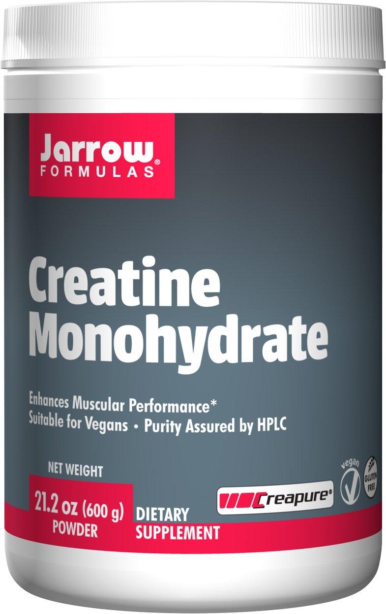 Jarrow Formulas Creatine Monohydrate Powder Promotes Muscular Performance, 3.36 Ounce