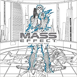 Amazon Mass Effect Adult Coloring Book 9781506702872 Bioware Books