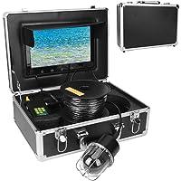 Cámara de Pesca submarina TFT LCD de 10,1 Pulgadas, 20 LED, buscador de Peces a Prueba de Agua, Monitor de Pantalla…