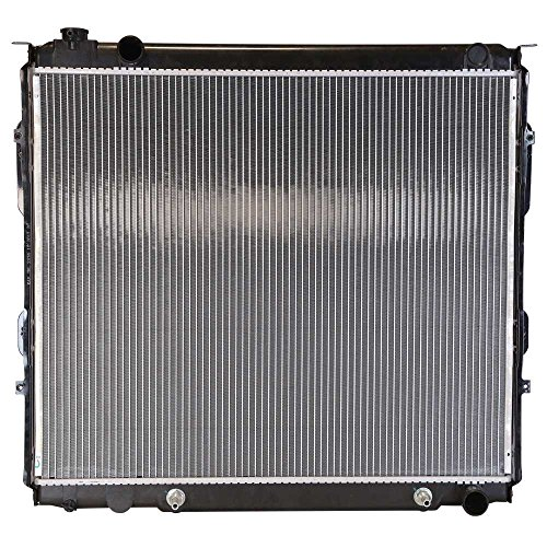Prime Choice Auto Parts RK910 New Complete Aluminum Radiator ()