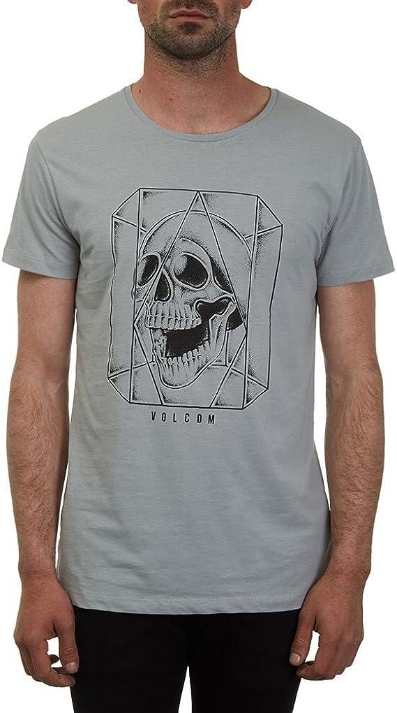 Volcom Ghost Lightweight Gris – Camiseta, Hombre, Ghost Lightweight T-Shirt Herren Grau, Gris, XL: Amazon.es: Ropa y accesorios