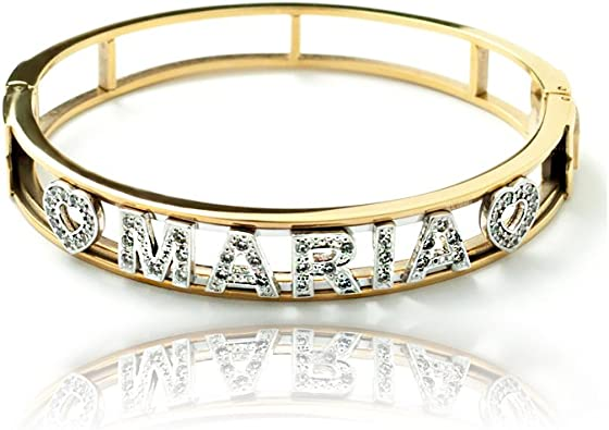 JF Anello Portafortuna Personalizzato Gioielli con Nome inciso per Le Donne Anello delle Madri con 3 Nomi