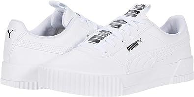Amazon.com: PUMA Carina Bold, Blanco: Shoes